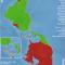 mapa del estado de ratificación de los convenios de la OIT en Abya Yala en enero 2015