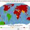 Mapa del estado de ratificación C107 y C169 OIT, enero 2015