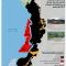 mapa de Hidrocarburos y minería en el Pacífico colombiano, febrero 2012