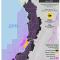 Mapa de Hidrocarburos en el Pacífico colombiano en julio de 2015