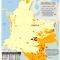 mapa de los Pueblos Indígenas en Riesgo de Extinción Demográfica y Cultural
