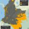 mapa de los resguardos indígenas en Colombia en noviembre de 2015