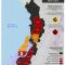mapa de la Ronda Colombia 2014 en el Pacífico colombiano