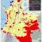 mapa de los Territorios Indígenas y extracción petrolera en Colombia en diciembre de 2014
