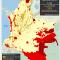mapa de los Territorios Indígenas y títulos mineros 2013 (julio) en Colombia