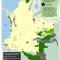 Mapa de cultivos de coca en Resguardos indígenas en Colombia 2006
