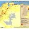 mapa de territorios indígenas en Colombia y densidad de población