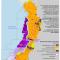 mapa de la actividad petrolera en territorios colectivos del Pacifico, febrero 2012