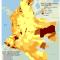 mapa de población indígena por municipio en Colombia. Censo 2005
