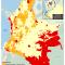 mapa de Territorios Indígenas y Distritos Mineros en Colombia 2010