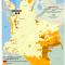 mapa de áreas mineras tituladas en Resguardos en Colombia 2010