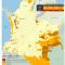 mapa de áreas mineras tituladas en Resguardos en Colombia en 2011