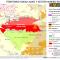 mapa del Territorio Nukak Makú y sector minero-energético en febrero 2012