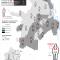 Mapa de las Desapariciones y desapariciones forzadas en Cali en 2013