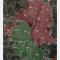 Mapa de riesgo en Medellín del Sistema de Alerta Temprana de la Defensoría del Pueblo octubre de 2010