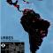 Mapa de la tasa de homicidios en las grandes ciudades de América Latina y Caribe en 2012