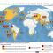 mapa de principales productores de cultivos de uso ilícito en el mundo 2008-2010