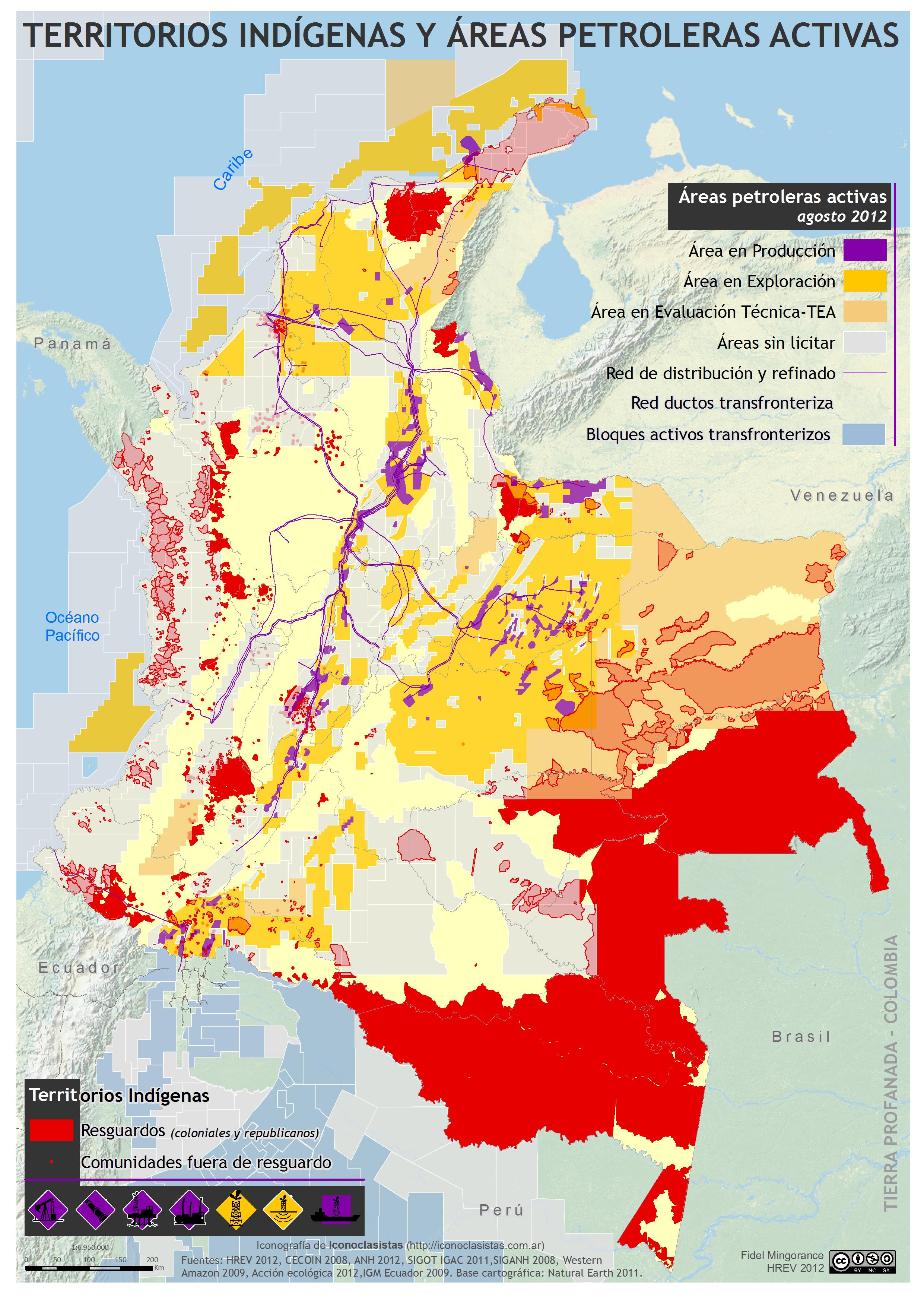 Colombia Mapa De Las Comunidades
