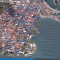 Imagen de la Cobertura del monitoreo de los equipos de HREV en el Centro de Colón en octubre de 2012