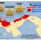 mapa del esquema del despojo en Panamá 2010-2012