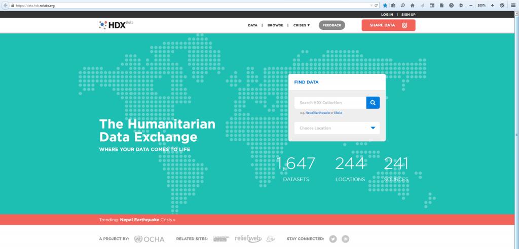 HumanitarianDataExchange