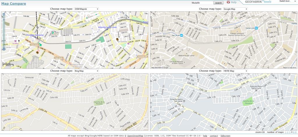 comparador de mapas_Geofabrik