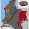 Mapa de las áreas estratégicas mineras en Colombia en 2012