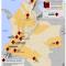 mapa de minería ilegal y grupos armados en Colombia en 2011 mapa DAS