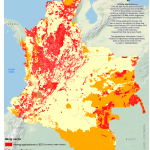 Indigenous Territories and Minning Applications in Colombia