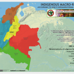 Indigenous macro-regions ONIC's map