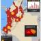 mapa de la accidentalidad minera en Colombia en 2014