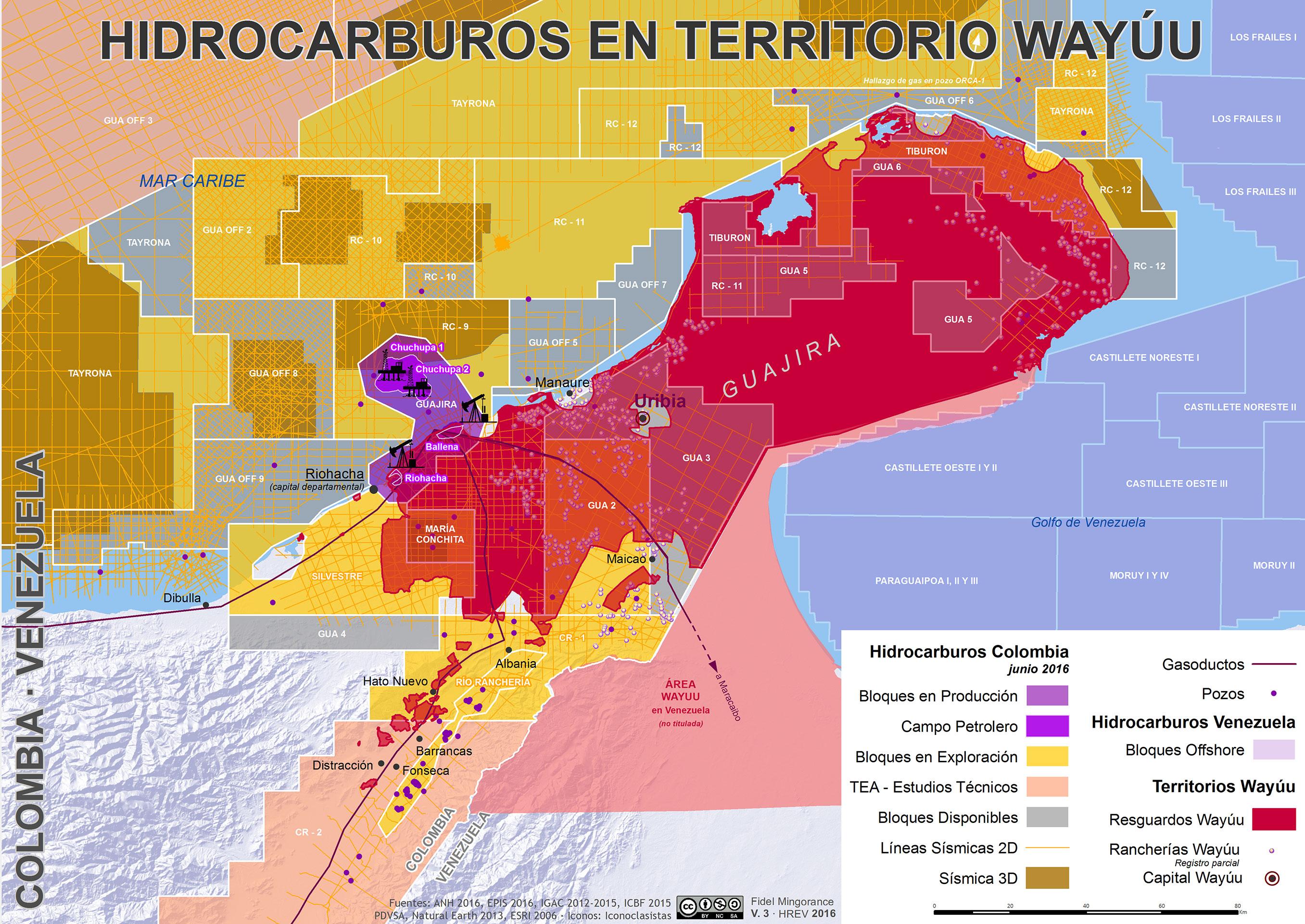 Hidrocarburos en Territorio Wayuu (2016)