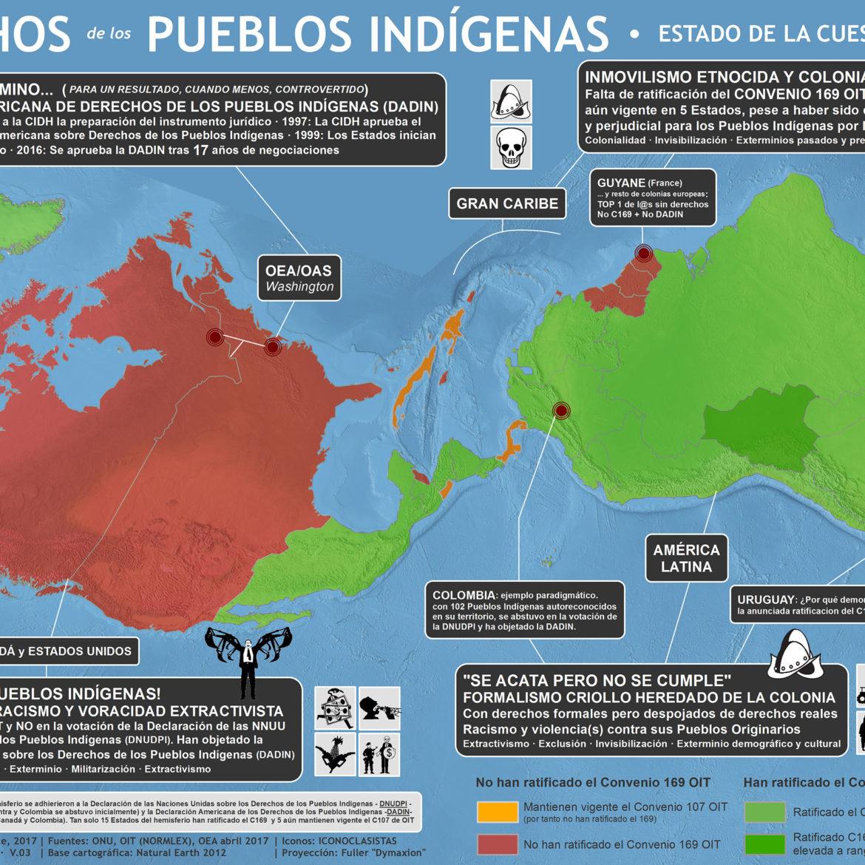 derechos pueblos indigenas 2017