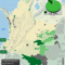 mapa de los cultivos de coca en Resguardos Indígenas en Colombia 2014