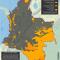 mapa de la jurisdicción especial indígena en Colombia en octubre de 2015