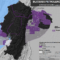 Mapa de los bloques petroleros en Ecuador en octubre de 2016