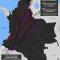 mapa de la extracción minera y petrolera en Colombia en priomer semestre de 2015
