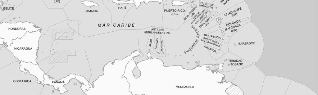 Fragmento de uno de los mapas de nuestra cartoteca