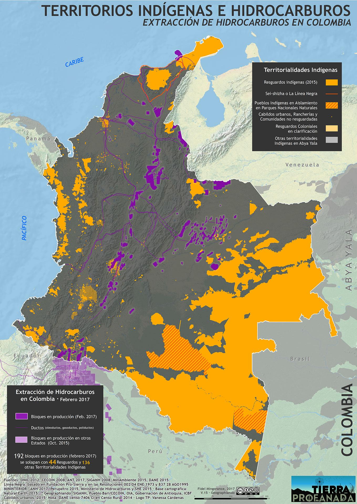 Territorios Indigenas y extraccion de hidrocarburos (2017)
