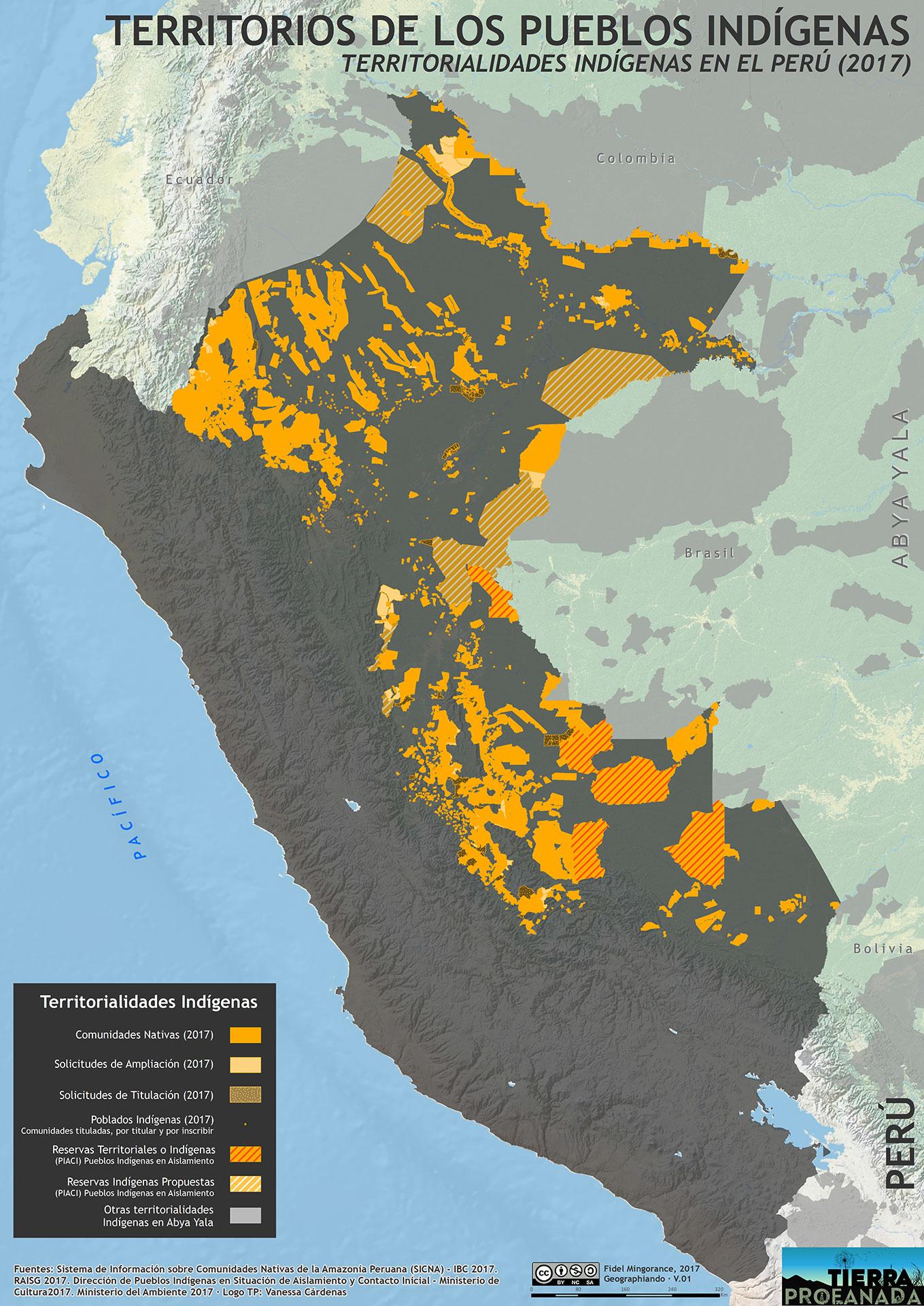 Territorialidades indigenas en el Peru (2017)